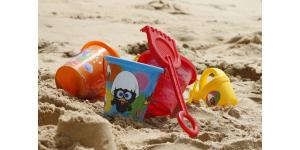 Jouets en polyuréthane pour jouer dans le sable