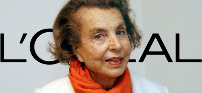 Liliane Bettencourt - héritière L'Oréal
