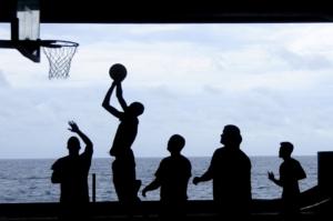 Entrainement basket