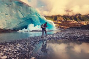 Tracking sur la glace - tourisme