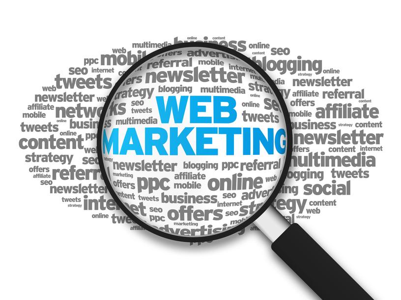 Le webmarketing et ses différents leviers montent en flèche